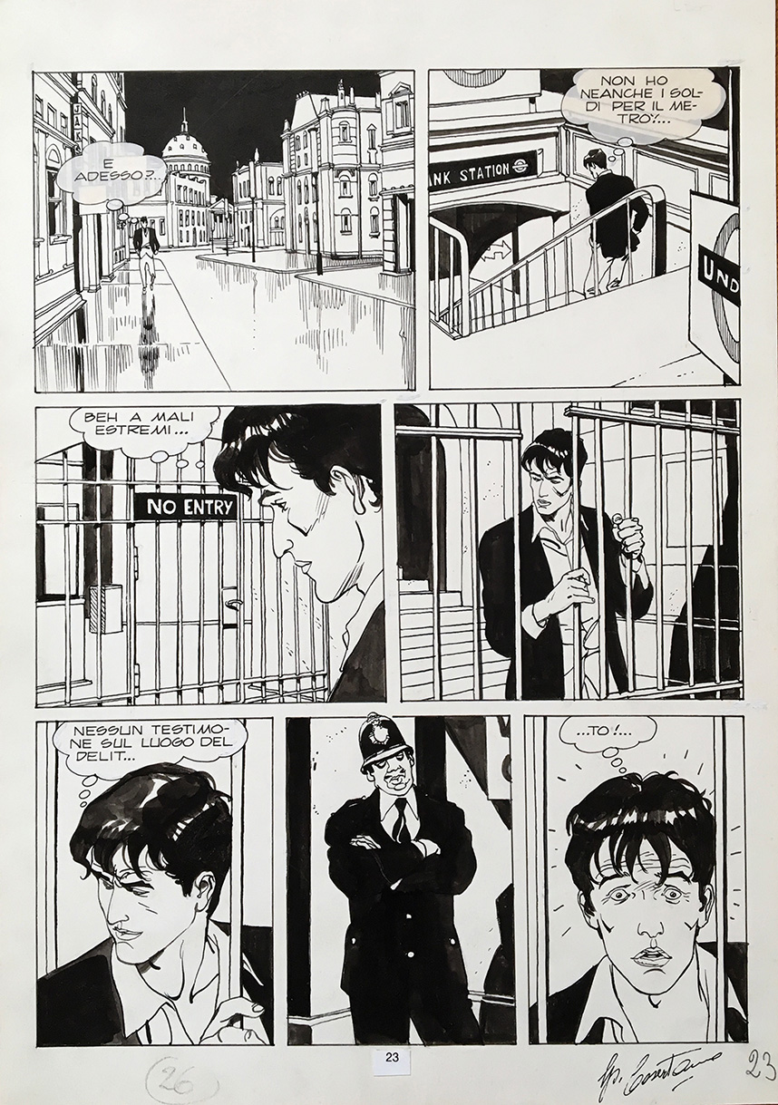 Segni e Disegni - comic art for sale | ComicArtTracker